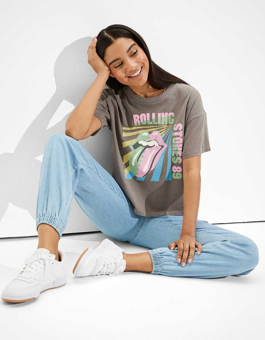 Tailgate Women's Rolling Stones Graphic T-Shirt