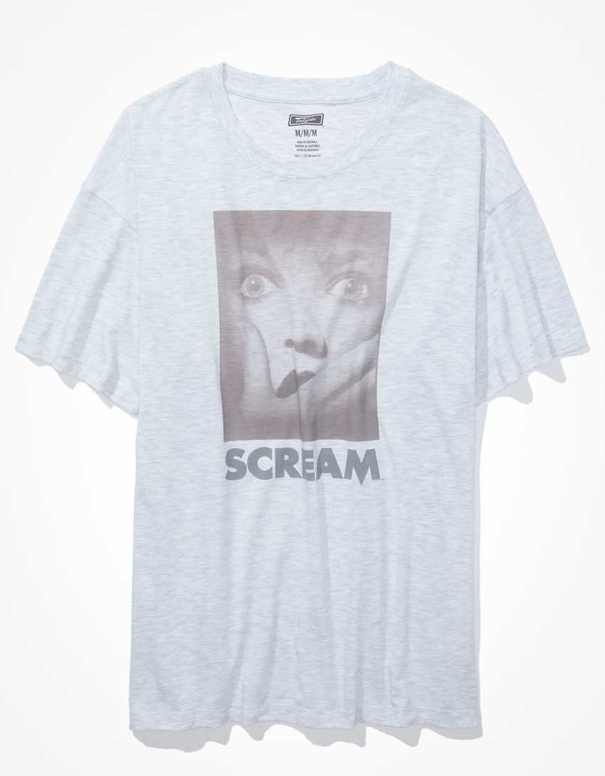 AE Oversized Scream Graphic T-Shirt