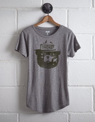Tailgate Women's Smokey The Bear Graphic Tee by American Eagle Outfitters
