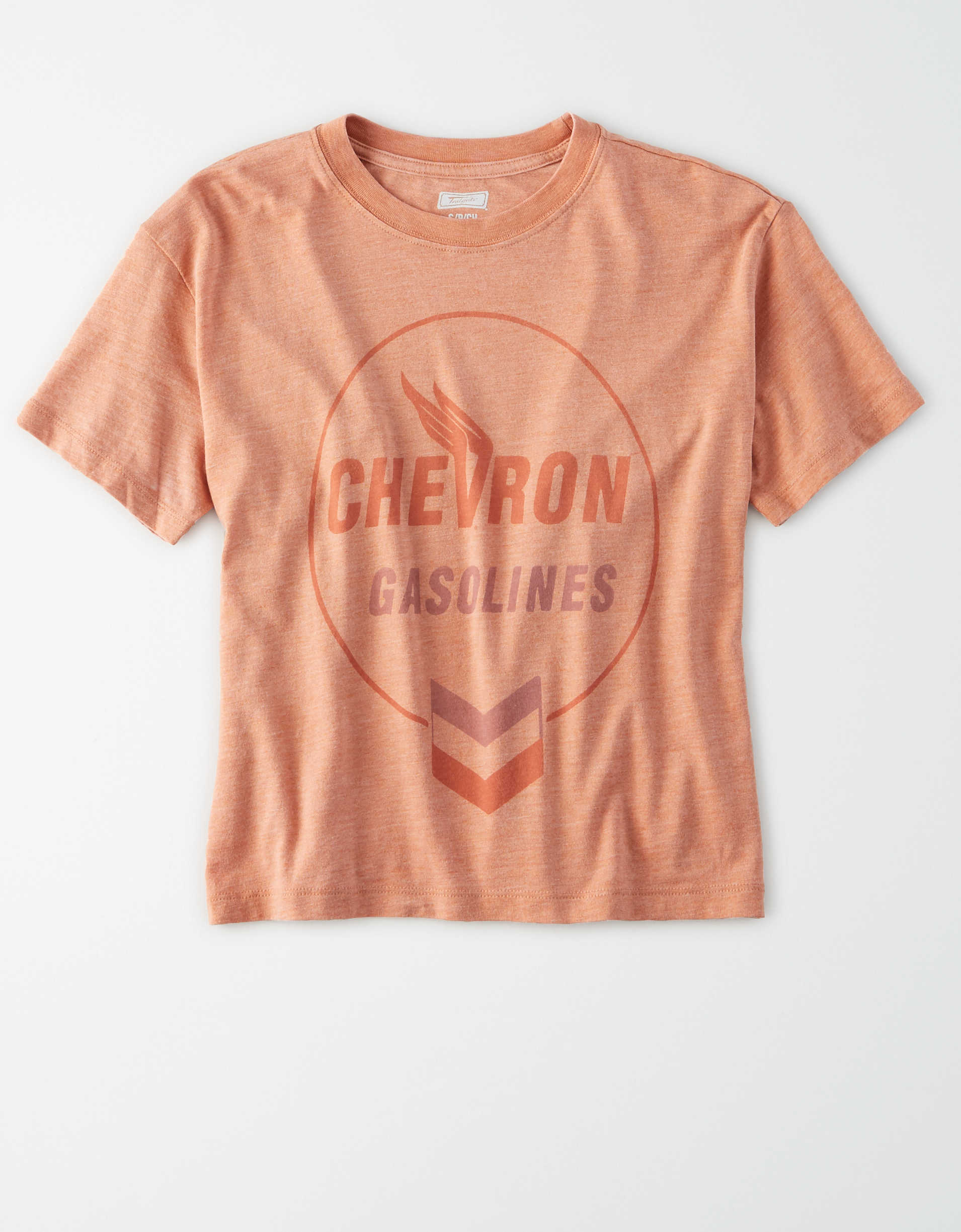Tailgate Women's Chevron Cropped T Shirt by American Eagle Outfitters