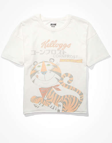 Tailgate Women's Kellogg's Cropped Graphic T-Shirt
