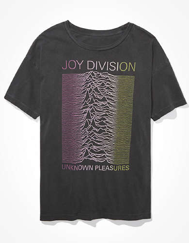 Tailgate Women's Joy Division Oversized Graphic T-Shirt