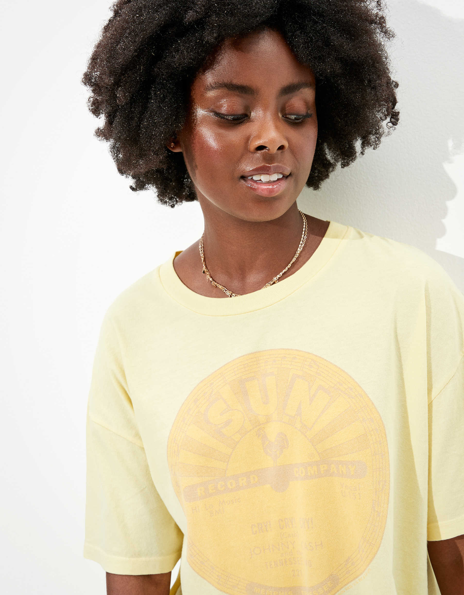 Tailgate Women's Sun Records Oversized Graphic T-Shirt
