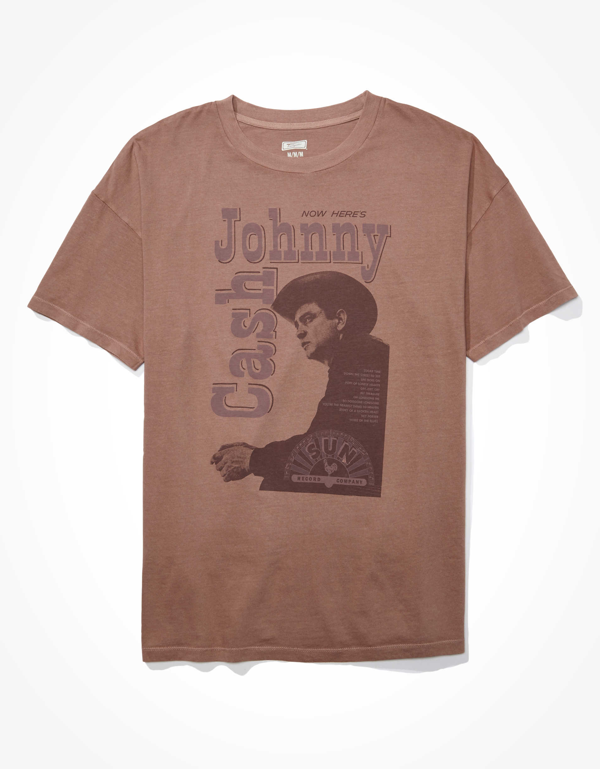 AE Oversized Johnny Cash Graphic T-Shirt