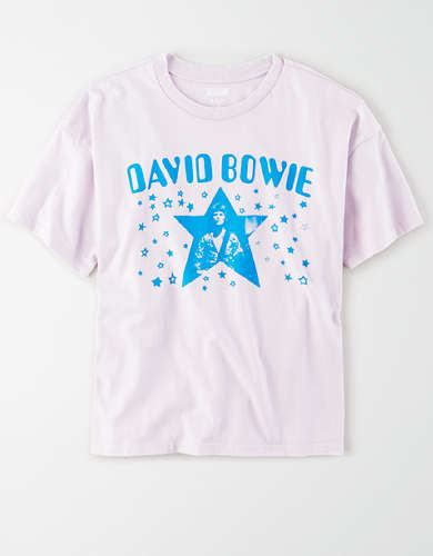 Tailgate Women's David Bowie Boxy T-Shirt