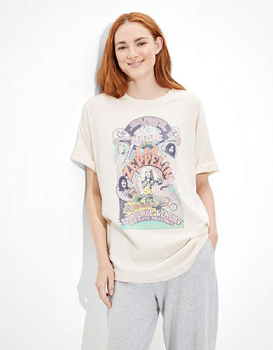 Tailgate Women's Led Zeppelin Oversized Graphic T-Shirt
