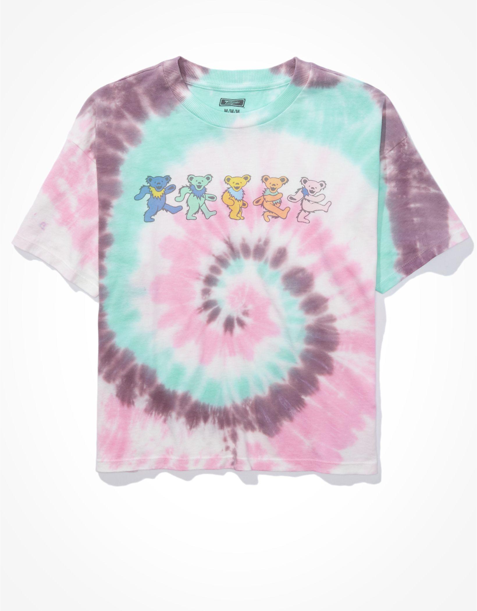 Tailgate Women's Grateful Dead Tie Dye T-Shirt