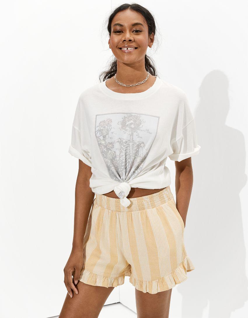 Tailgate Women's Grateful Dead Oversized Graphic T-Shirt