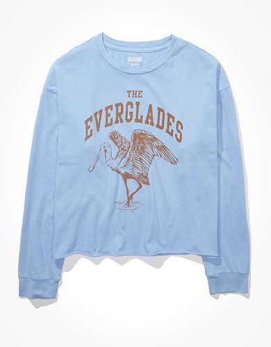 Tailgate Women's Everglades Cropped T-Shirt