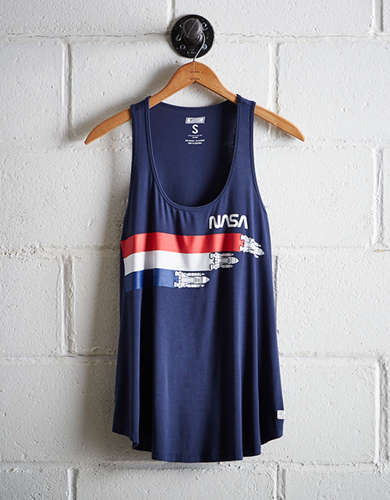 Tailgate Women's NASA Scoop Neck Tank - Free Returns