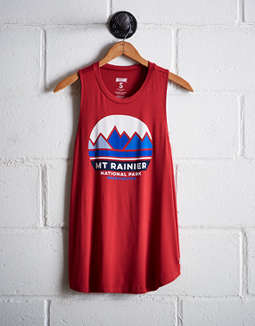 Tailgate Women's Mt. Rainier National Park Tank