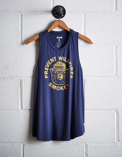 Tailgate Women's Smokey Bear Tank - Free Returns