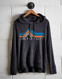Tailgate Women's Ski Park City Plush Hoodie