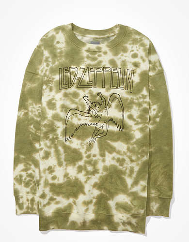 Tailgate Women's Led Zeppelin Tie-Dye Sweatshirt