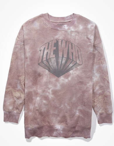 Tailgate Women's The Who Graphic Sweatshirt