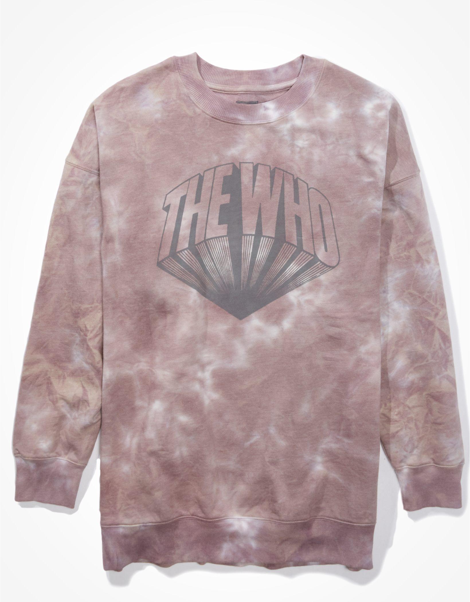 Tailgate Women's Oversized The Who Graphic Sweatshirt