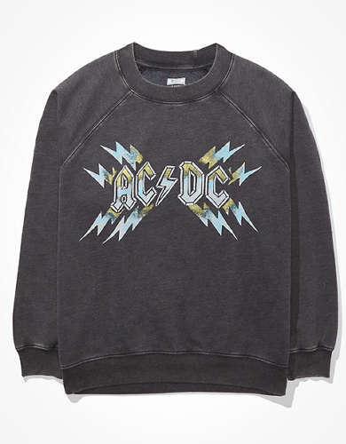 Tailgate Women's ACDC Graphic Fleece Sweatshirt