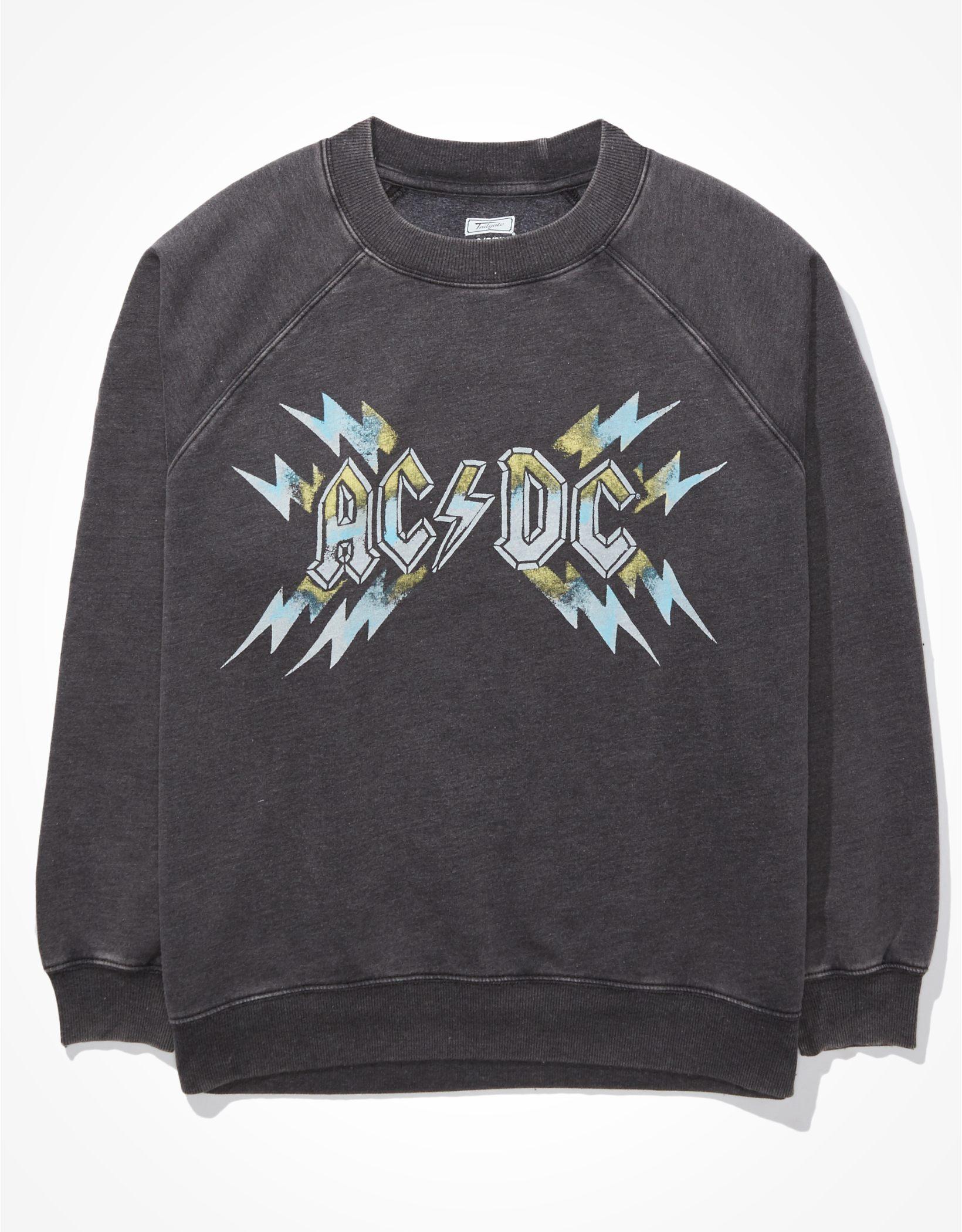 Tailgate Women's ACDC Graphic Fleece Sweatshirt