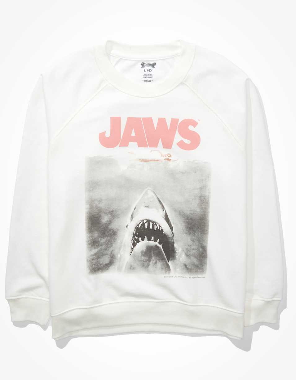 Tailgate Women's Jaws Graphic Fleece Sweatshirt