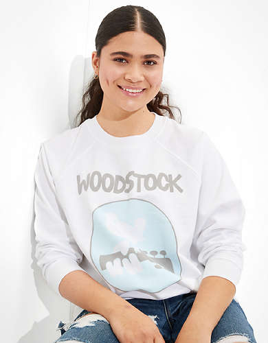 Tailgate Women's Woodstock Graphic Fleece Sweatshirt