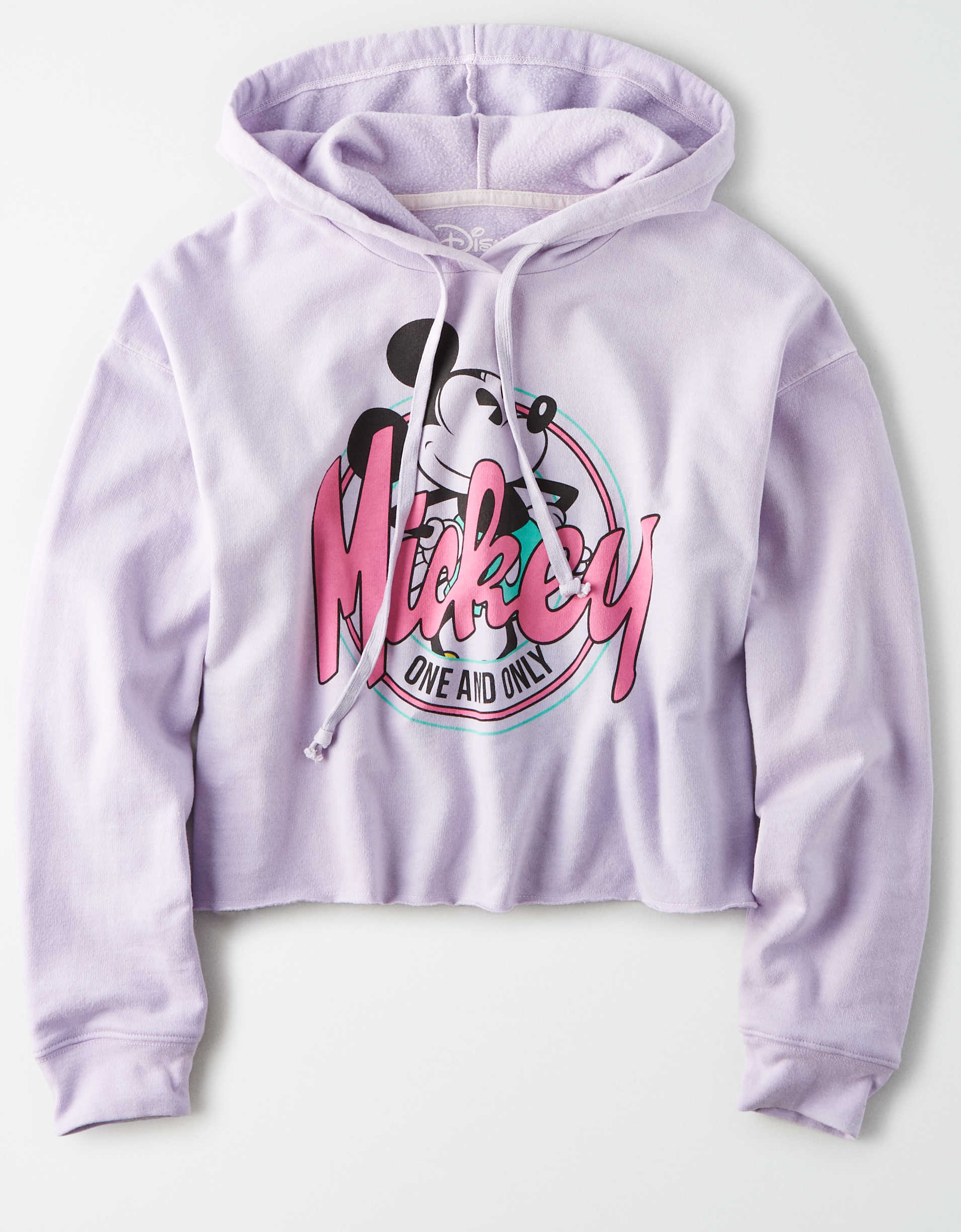 Tailgate Women's Mickey Mouse Cropped Hoodie
