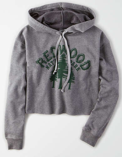 Tailgate Women's Redwood National Park Cropped Hoodie