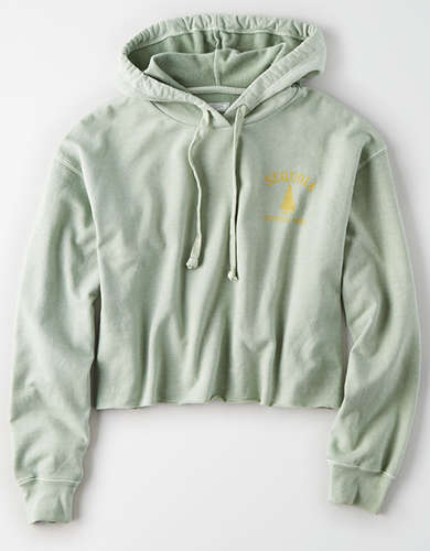 Tailgate Women's Sequoia National Park Cropped Hoodie