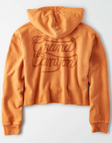 Tailgate Women's Grand Canyon Cropped Hoodie
