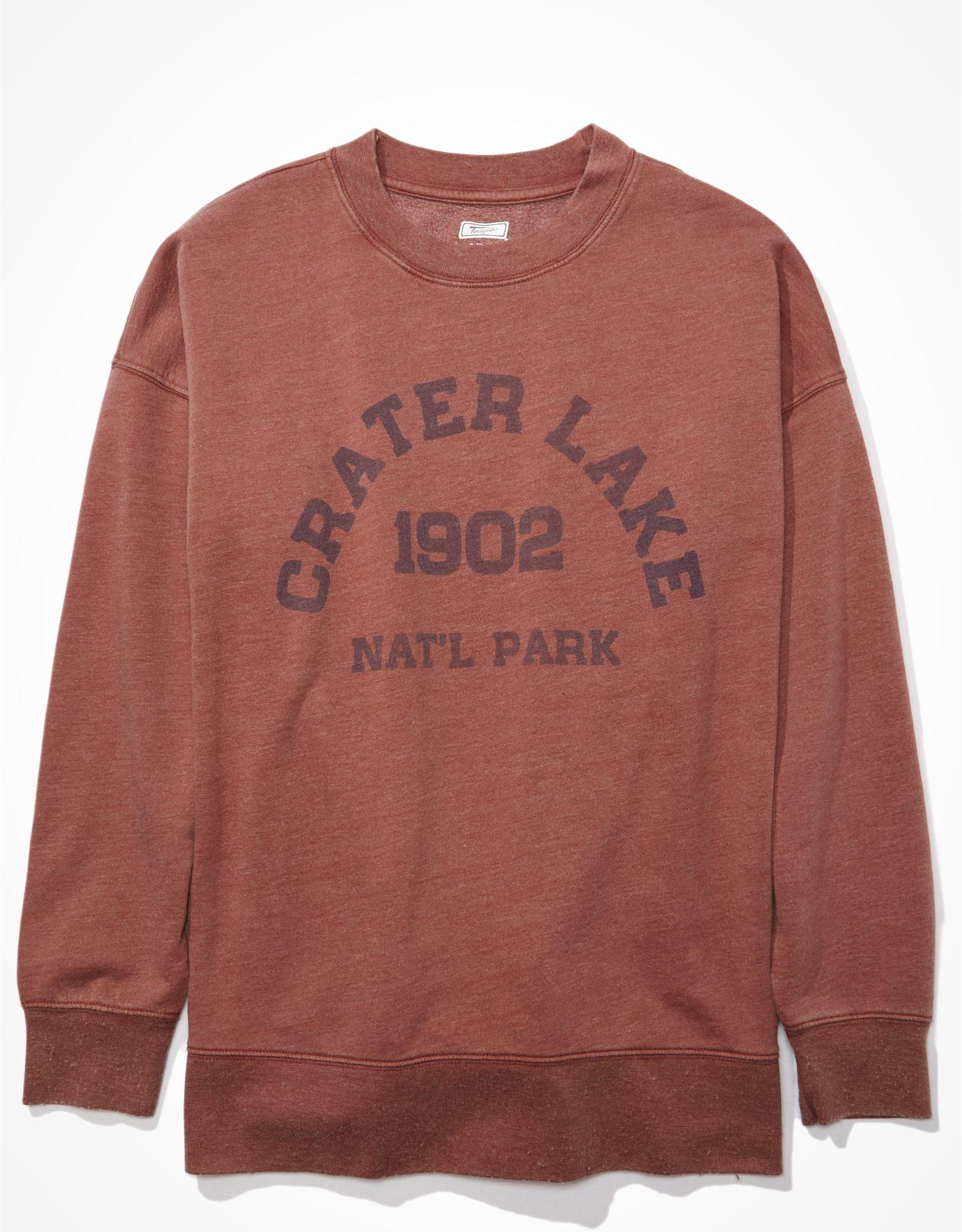 Tailgate Women's Crater Lake Oversized Sweatshirt