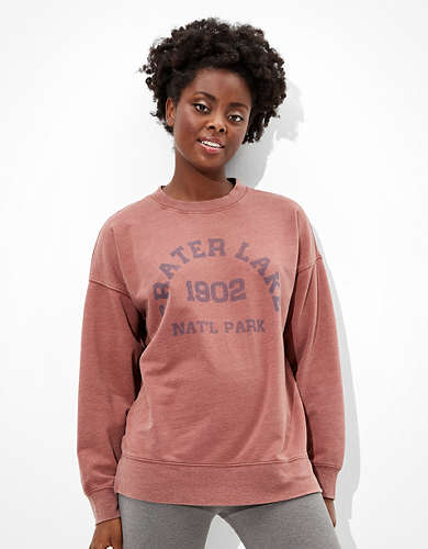 Tailgate Women's Crater Lake Oversized Sweatshirt