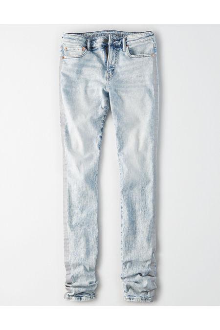 Men's Vintage Pants, Trousers, Jeans, Overalls AE X Young Money Flex Stacked Skinny Jean Mens Indigo Acid 36 X 30 $29.99 AT vintagedancer.com