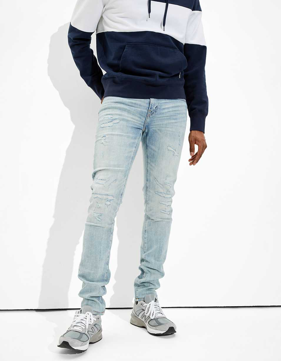 AE AirFlex+ Temp Tech Stacked Skinny Jean