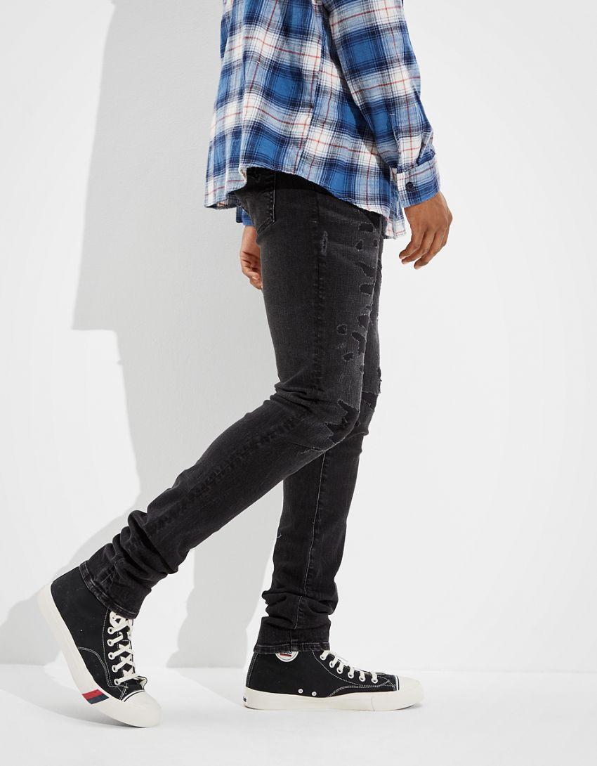 AE AirFlex+ Stacked Skinny Jean