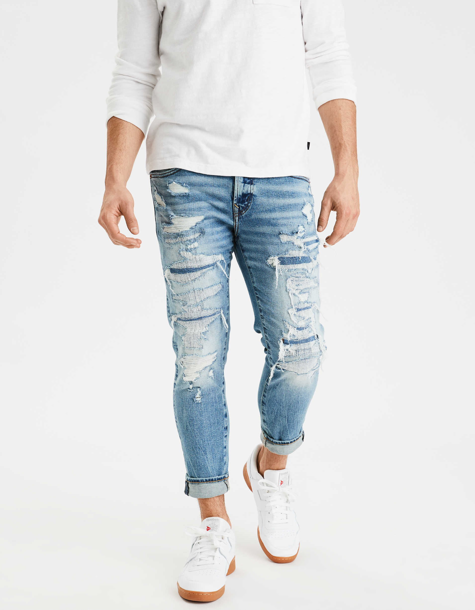 AE Ne(x)t Level AirFlex Cropped Skinny Jean