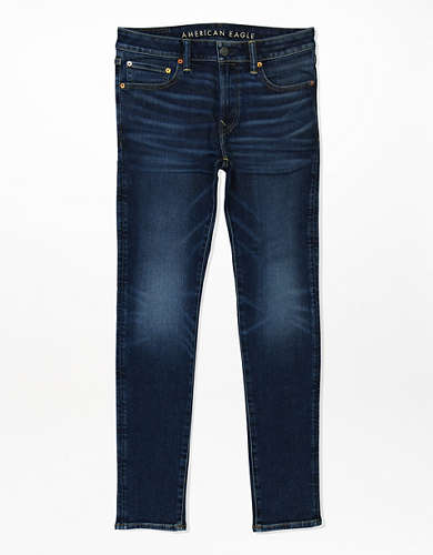 Укороченные джинсы-скинни AE AirFlex+