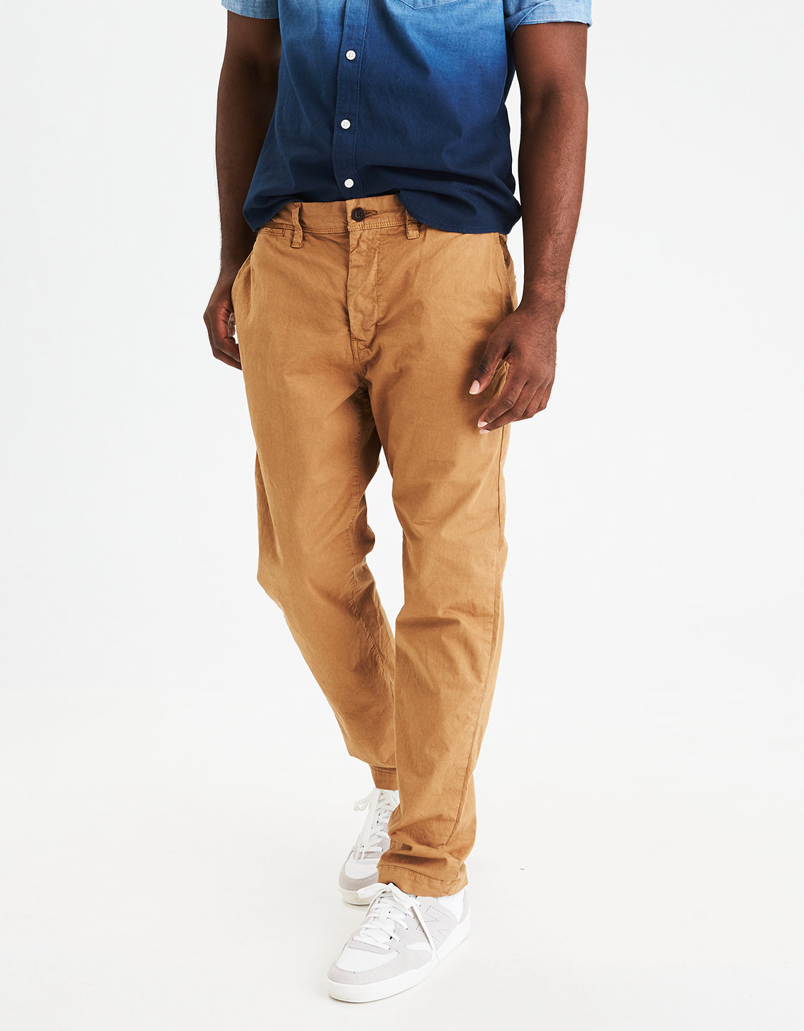 AE Ne(X)t Level Slim Khaki Pant. Placeholder image. Product Image