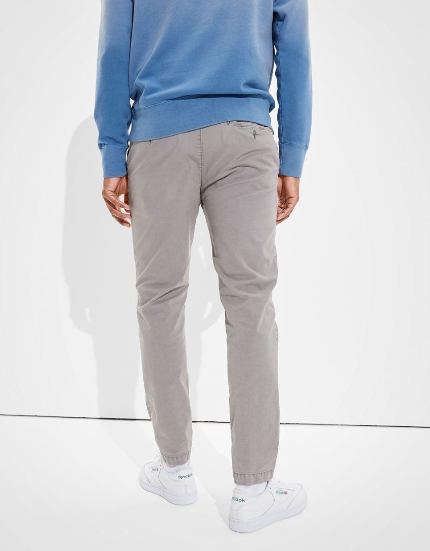 AE Flex Slim Lived-In Khaki Pant