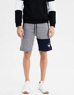 AE Ne(X)t Level Color Block Fleece Short