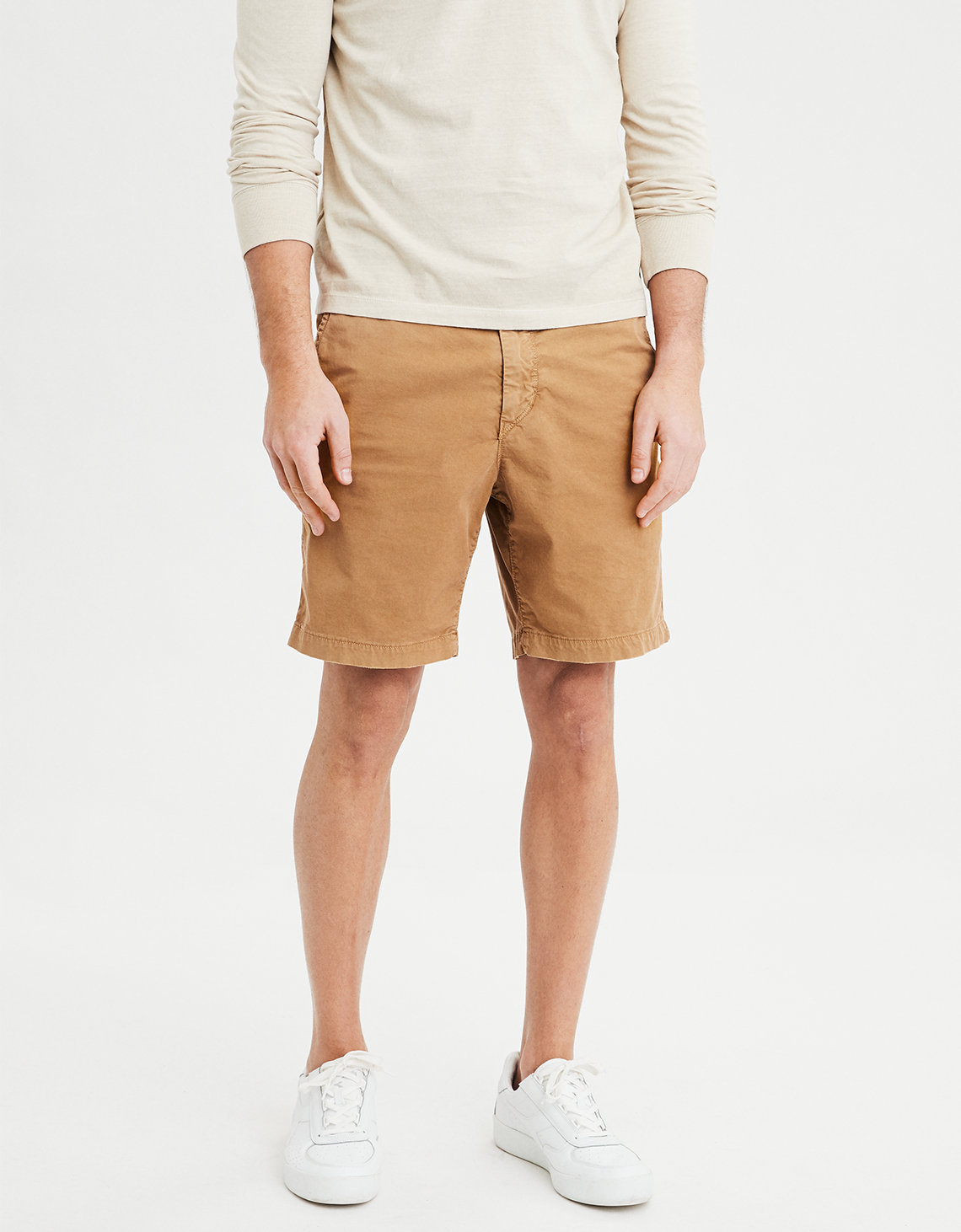 "AE Ne(X)t Level Slim 8"" Khaki Short"