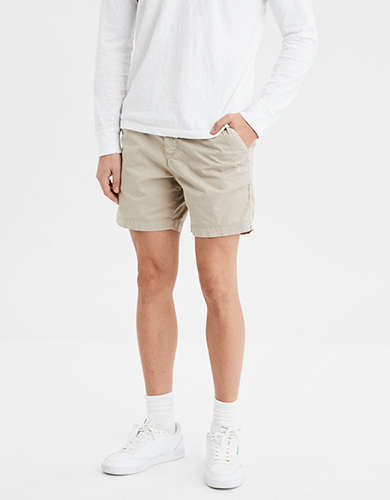 "AE Ne(X)t Level Slim 6"" Khaki Short"