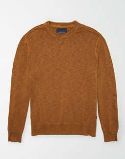 AE Garment Dyed Crew Neck Sweater