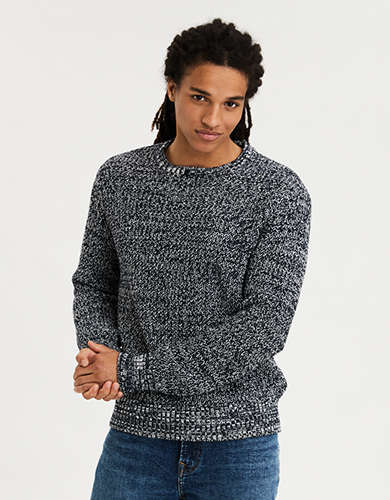 AE Marled Crew Neck Sweater