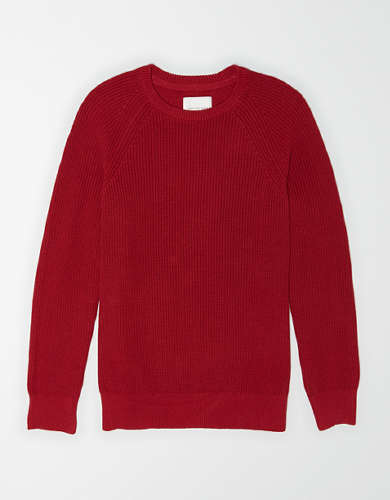 AE Raglan Sleeve Crew Neck Sweater
