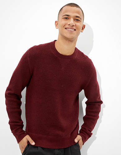 AE Super Soft Crew Neck Sweater