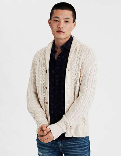 AE Shawl Collar Cardigan