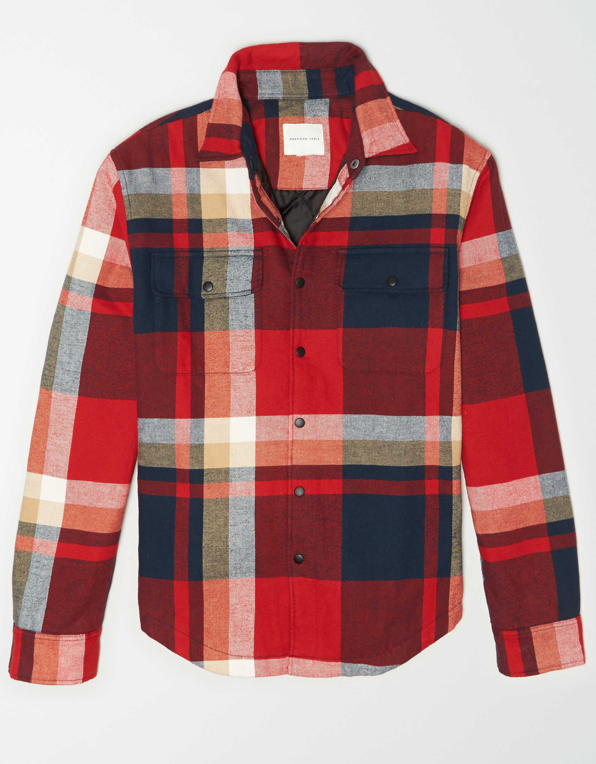 AE Lined Flannel Overshirt