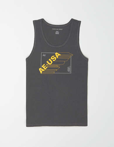 AE Vintage Wash Graphic Tank Top