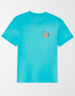 AE Винтажная футболка с коротким рукавом