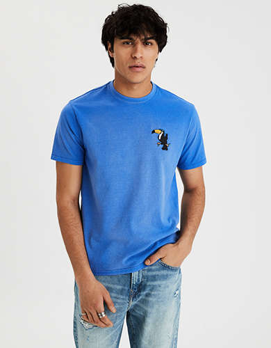AE Short Sleeve Vintage Wash T-Shirt