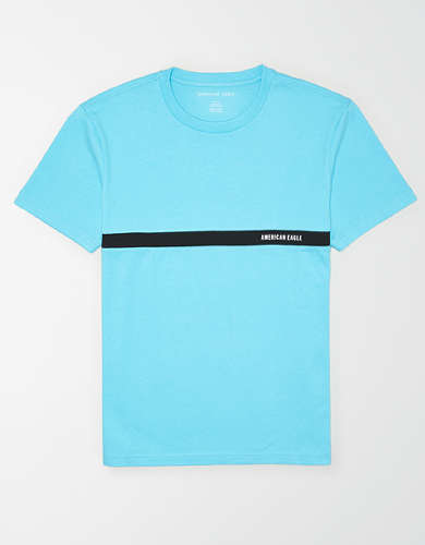 AE Logo Stripe T-Shirt
